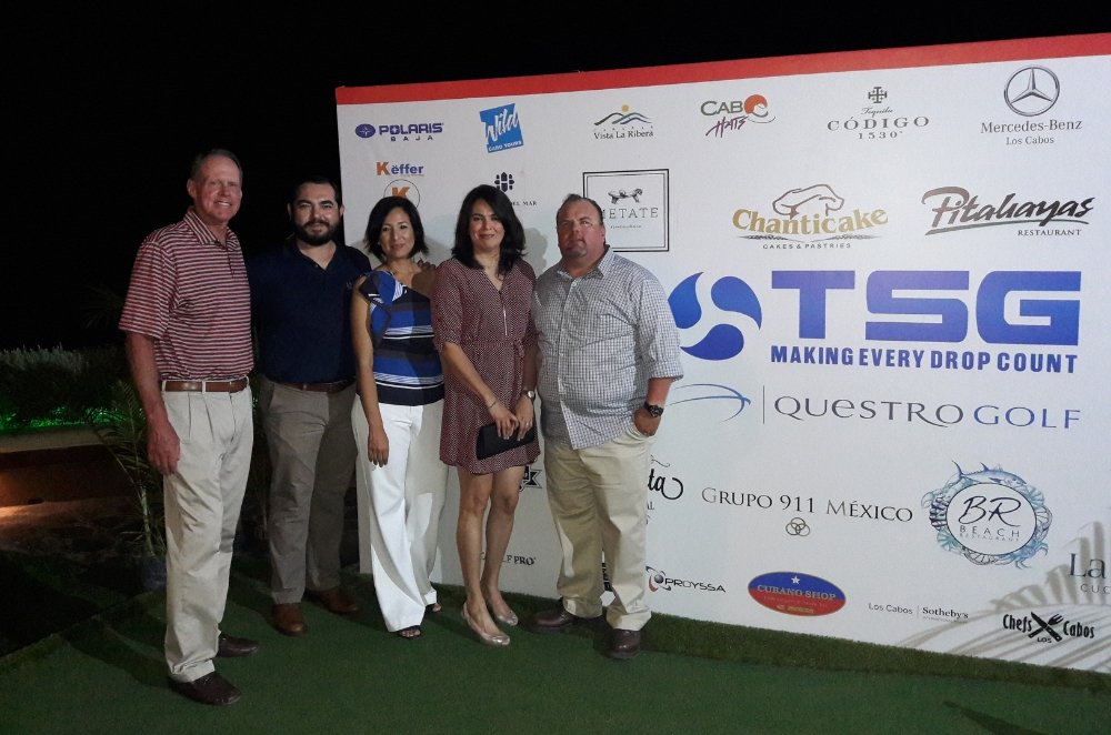 TSG Water Sponsors The 6th Annual Los Cabos, Mexico, Golf Championship Tournament.